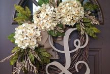 Front Door Wreaths / A board dedicated to wreaths for your front door or front porch.