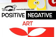 Positive/Negative Art Ideas