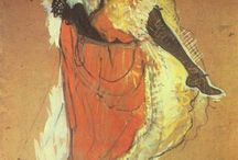 Henri Marie Raymond de Toulouse-Lautrec / O Ανρί ντε Τουλούζ-Λωτρέκ (Henri Marie Raymond de Toulouse-Lautrec-Monfa, 24 Νοεμβρίου 1864 - 9 Σεπτεμβρίου 1901) ήταν Γάλλος ζωγράφος, χαράκτης, εικονογράφος και σχεδιαστής, του οποίου η εμβάθυνση στην πολύχρωμη και θεατρική παριζιάνικη ζωή στα τέλη του 19ου αιώνα, έδωσε μία συλλογή από συναρπαστικές, κομψές και προκλητικές εικόνες της σύγχρονης και μερικές φορές παρακμιακής ζωής εκείνης της εποχής.