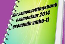Economie vmbo-tl / Alle examenonderwerpen uit het examenprogramma economie vmbo-tl 2014.