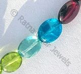 Plain Oval Gemstone Beads / Plain Oval Gemstone Beads by Ratna Sagar Jewels