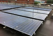 COMMERCIAL SOLAR PV INSTALLS  / EEC Home Improvements are specialist large scale solar PV installers. Here is some images from our most recent commercial installs