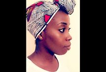 Head wrap Tutorials / Tutorials on how to tie African print head wraps in different styles