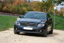 Mercedes-Benz C-Klasse - Echtleder / Design der Sitzbezüge: Echtleder (ZACASi) schwarz / hellgrau - Naht hellgrau - mit vorher-Fotos http://www.seat-styler.de/mercedes-c-klasse-w204/ http://www.seat-styler.de/sitzbezuege-mercedes-c-klasse/