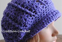 Gehaakte mutsen / crochet hats