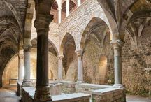 monastery arch