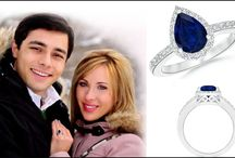 Paul-Jessica-with-Pear-Shape-Sapphire-Ring1