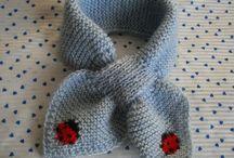 écharpe et bonnet bebe