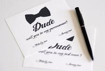 Wedding - Bridal Party, Asking