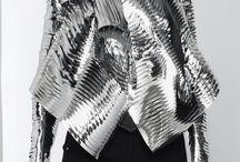 Futuristic Fashion / Silver cyber