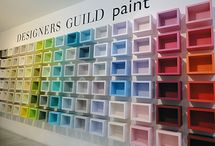 Designers Guild / A selection of colours from Designers Guild