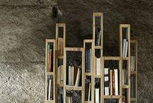 półka na książki z palet
