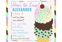 Ice Cream Party Ideas / Ice Cream Party ideas, food, decorations and our suggested invitations