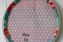 Embroidery hoops / bastidores o aros para bordar