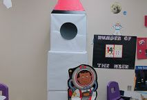 Solar system dramatic play for kindergarten