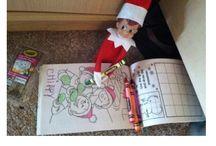 elf on shelf / by Kinsey Martinez