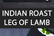 Leg of lamb (Indian)