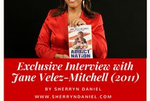 Sherryn's Celebrity Interviews / Here's my collection of celebrity interviews compiled on: Sherryn Daniel's Blog, Best of Baltimore Blog & Beyond.