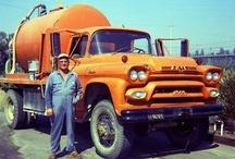 I LOVE orange trucks / by Kleyn Trucks