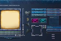 Game UI / References and inspiration for Video Game User Interfaces