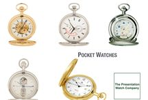 Men's Engraved Watches / A personal gift for him, engraved wrist watches and pocket watches