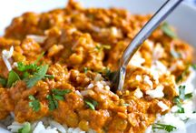 Red curry lentil
