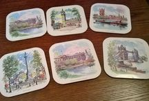 Retro 1960 Mum and Dads place mats !