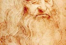 Painter Leonard de Vinci / Leonardo di ser Piero da Vinci Italian polymath, painter, sculptor, architect, musician, mathematician, engineer, inventor, anatomist, geologist, cartographer, botanist, and writer.