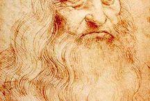 Painter Leonard de Vinci / Leonardo di ser Piero da Vinci Italian polymath, painter, sculptor, architect, musician, mathematician, engineer, inventor, anatomist, geologist, cartographer, botanist, and writer.