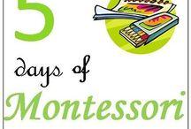 Montessori lessons / by Kelly Whetstone