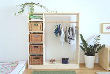 Montessori at home - Montessori vorbereitete Umgebung / Die Wohnung und das Kinderzimmer nach Montessori einrichten. Einfache Tipps für Familien.