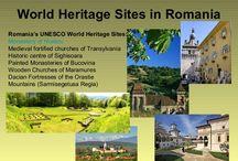 World Heritage Sites in Romania