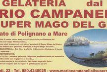 """BAR GELATERIA DAL 1935 """"MARIO CAMPANELLA IL SUPER MAGO DEL GELO"""":CELEBRITA'"""