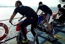 Ciclo Onboard / Ciclo Fitness in a Boat connecting Europe btw Africa