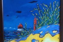 Paintings by Michigan Artists / Paintings created by Michigan artists / by C2C Gallery