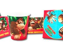Donkey Kong Birthday Party Ideas, Decorations, and Supplies / Donkey Kong Party Supplies from www.HardToFindPartySupplies.com, where we specialize in rare, discontinued, and hard to find party supplies. We also carry several of the more recent party lines.