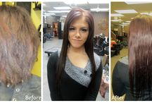 Extensions / Different methods of extensions done by our stylists