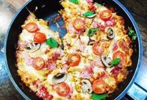 One pot pizza