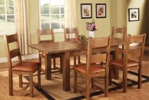 Rustic Oak / The embellish Rustic Oak a beautiful range of furniture made from rustic and reclaimed oak. Our best designed offer Dining, Occasional and Bedroom sets. Available in an affordable price.