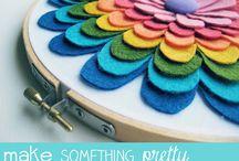Con fieltro se hacen maravillas / Fieltro, colores, texturas… obras de arte