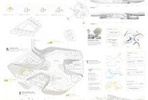 Paneles Referentes / Estos son Paneles o laminas de arquitectura,que no son de mi autoria pero son  buenos referentes.