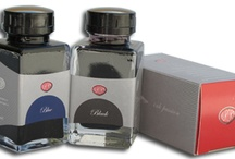 Ink / We currently carry Pelikan, Sailor, Aurora, and Pilot-Namiki inks in the bottle or cartridge. We carry Sheaffer ink in the bottle only. Explore our vibrant selection of inks to liven up your fountain pens.