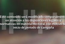 Periodo de Campaña Electoral / Atención a las Disposiciones Legales