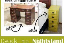Repurposed desks