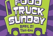 food truck event poster / by Caitlin Armiger