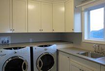 CD³ Inc - Contemporary Laundry Renovation / Coleman-Dias³ Construction Inc - Contemporary Laundry Renovation / by Coleman-Dias³ Construction