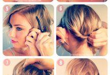 Haarstyle / Hairy ideas!