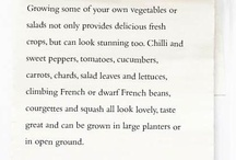 Gardening / tips and hints for growing vegetables