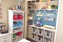 Organization & storage : Craft room
