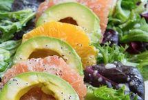 Healty salads